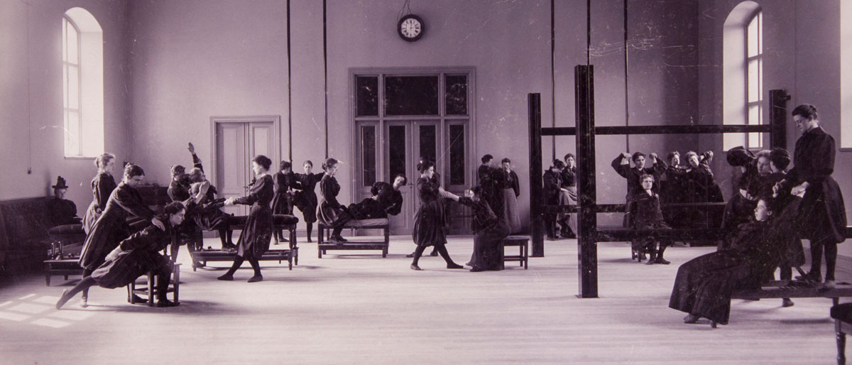 Swedish Royal Gymnastic Central Institute GCI, late 1800 in Stockholm