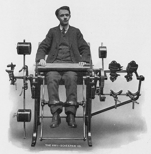 Gustaf Zander built over 70 different strength training machines